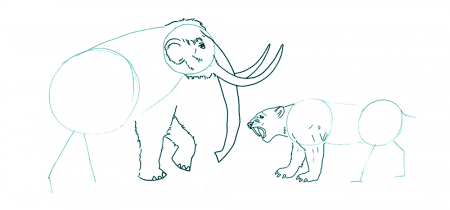 Let's Draw: A Mammoth Adventure!