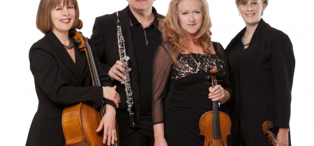 Britten Oboe Quartet, Thursday 27 February, 8pm