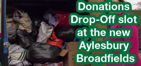 Aylesbury Broadfields Donation Drop-Off