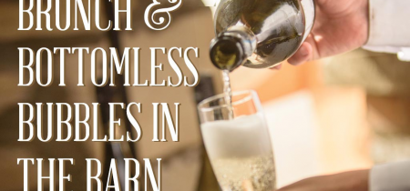 Bubbles and Brunch in the Barn