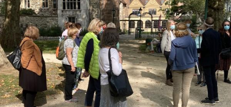 Live history tour of the Charterhouse from the Square