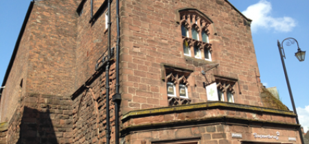 Literary Tour: Chester walk with literary readings, 22 June at 11:30