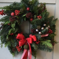 Christmas Wreaths and Garlands workshop - Monday 4 December