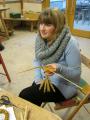 Corn dolly workshop