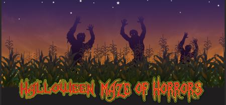Halloween Maze of Horrors - Saturday 31st October 2020
