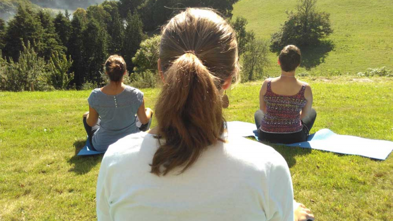 Sharpham House: Creating Space - Mindfulness for women - 4 nights  (with Kamini Gupta & Maite Alonso)