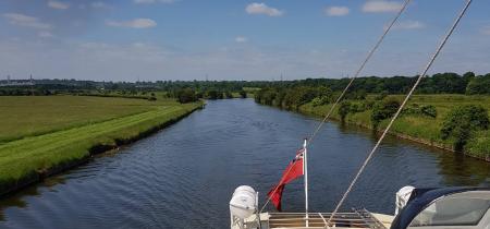 2.5 hour cruise - Sutton Weaver - Acton Bridge. June 21, July 6, 12, 27 Aug 3, 5, 16