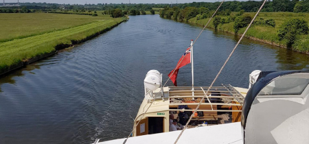 4 hour cruise - Sutton Weaver - Anderton Boat Lift - May 23, June 28, July 17, 26 Sep 18, 26 2020
