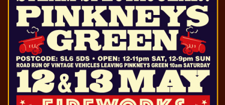 2018 - Pinkneys Green Steam Spectacular