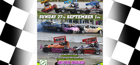 DRIVER Bookings Sunday 27th September 1pm