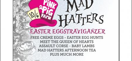 Mad Hatter Themed Easter EGG-Straveganza
