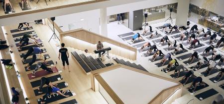 Design Museum x Equinox Yoga April 2018