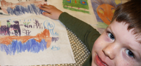 Family Textile Tasters with Jean Mellin, Textile Artist