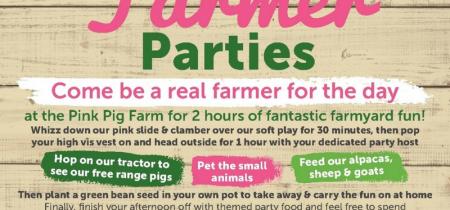 Big Farmer Party (peak weekends & school hols)