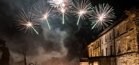 Beamish Hall Fireworks Extravaganza