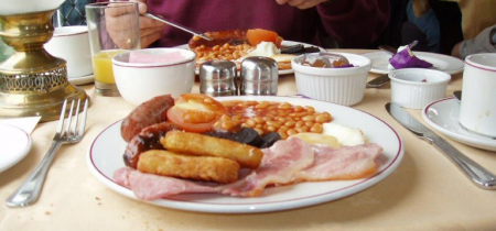 Quantock Belle Autumn Steam Gala Breakfast from Bishops Lydeard