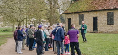 Guided Walk at Great Linford Manor Park