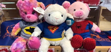 Optional Extra, Superhero Build-A-Cuddle - Advanced Booking Saver Promotion
