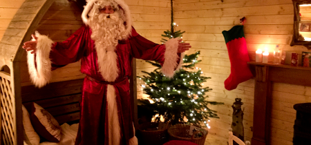 Father Christmas in The Wonder Wood 2018