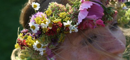 Flower Crown workshop, June 2019, 10.30–1pm