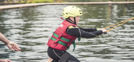 Junior Wakeboarding Session