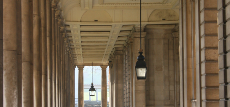 Charity and Splendour: Audio-Described Architecture Walking Tour of the Old Royal Naval College with Will Palin