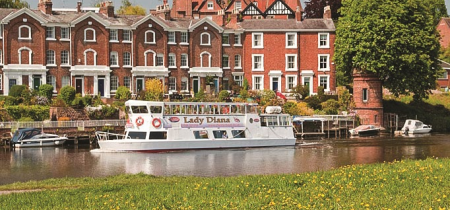 Half hour city cruise with ChesterBoat