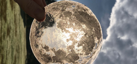 Day Course: Lunar Antique Glass Printing