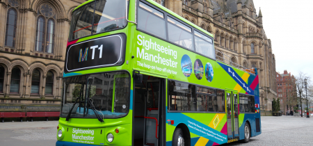 Sightseeing Manchester Bus Tour