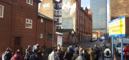 Manchester Street Art Tour