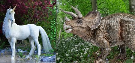 May Half Term - Unicorns and Dinosaurs