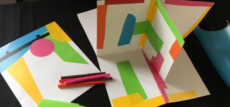 Get into Design Family Workshop: Pop-Up Paper Places