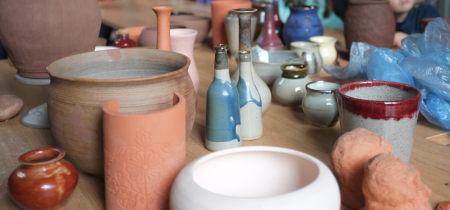 Winter & Spring Term: Pottery Course