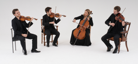 Piatti Quartet, 31 May 2018, 8pm (doors at 7.30pm)