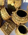 Reed mace baskets