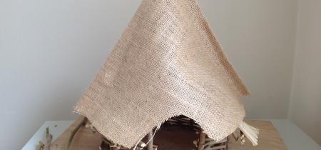 Iron Age Roundhouse Model Making