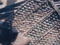 Weave a rush mat