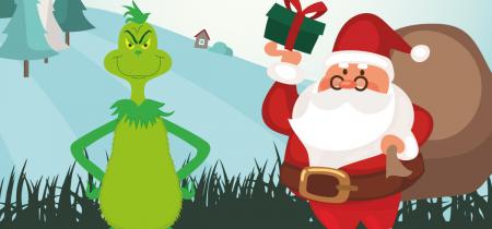 Santa & The Grinch's Grotto (15th & 16th December)