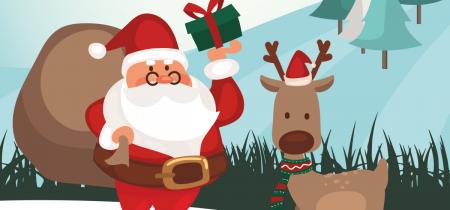 Santa & REAL Reindeer (21st to 23rd December)