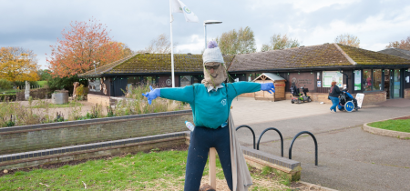 Come and make a scarecrow