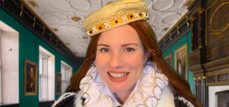 Meet Queen Elizabeth I: Live Online Family Event