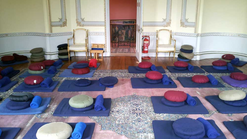 Sharpham House: Mindfulness and yoga retreat - 3 nights (with Patti Summerville & Brenda Nagy)