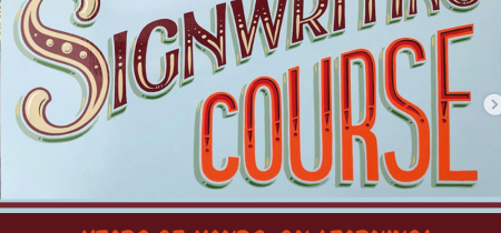 5 Day Intensive Signwriting Course – 4-8 March 2019