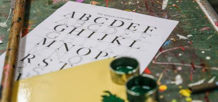 Fancy Lettering & Fairground Art Workshop - 5th&6th December 2020 price includes VAT