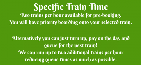 Mermaid and Pirate Festival 2018 - Specific Train Time