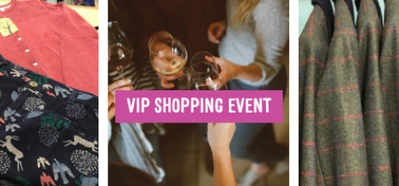 VIP Fashion Shopping Event 15th January