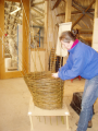 Living willow chair workshop