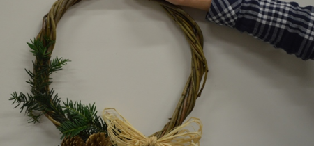Christmas Willow Weaving