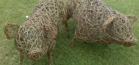 Advanced Willow Weaving: Sheep and Pigs