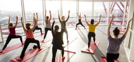 Yoga In The Sky 2018